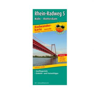 Rheinradweg 5: Koln - Rotterdam (kaart)