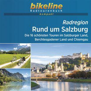 Rund um Salzburg Bikeline Kompakt fietsgids (2021)