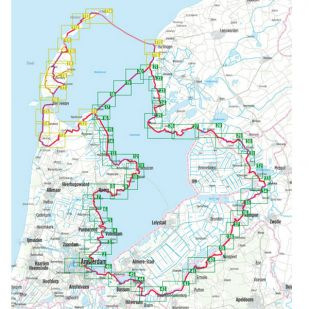 Rund Ums IJsselmeer Bikeline Fietsgids