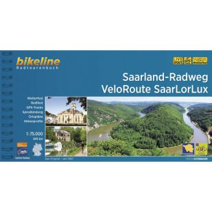 Saarland Radweg + SaarLorLux Bikeline Fietsgids