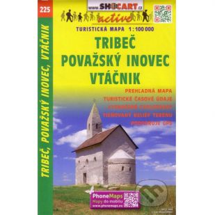 A - Shocart nr. 225 - Tribec, Povazsky inovec, Vtacnik