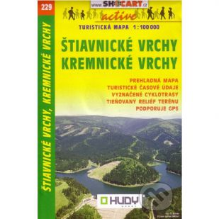 A - Shocart nr. 229 - Stiavnicke Vrchy, Kremnicke Vrchy