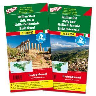 F&B Sicilië Oost en West (2 kaarten)