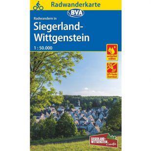 Radwanderkarte Siegerland-Wittgenstein