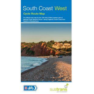 Sustrans Map South Coast West