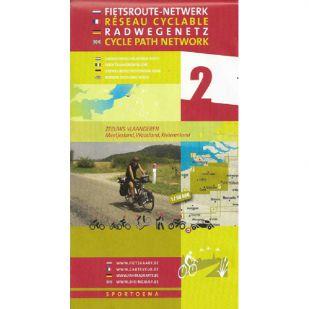 Fietskaart Sportoena 2 - Groen Zeeuws-Vlaanderen !