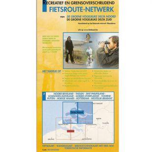 Fietskaart Sportoena 9 & 10 - Groen Delta Noord en Zuid !