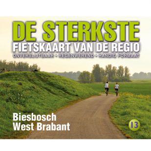 De Sterkste Fietskaart 13 Biesbosch/West-Brabant !