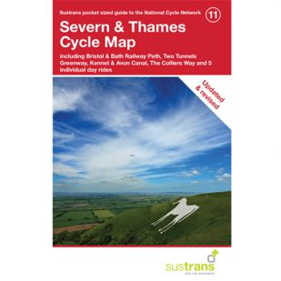 11. Severn & Thames Cycle Map