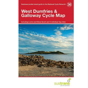 36. West Dumfries & Galloway Cycle Map