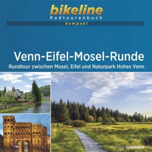 Venn-Eifel-Mosel-Runde Bikeline Kompakt fietsgids (2021)