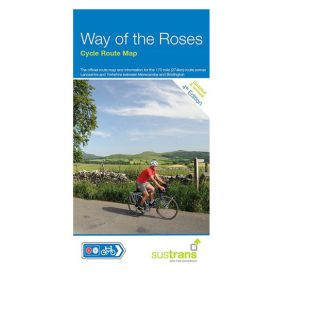 Way of the Roses Sustrans Map