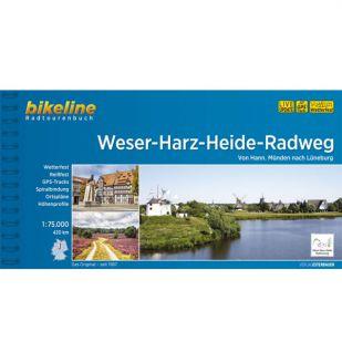 Weser Harz Heide Radweg Bikeline Fietsgids