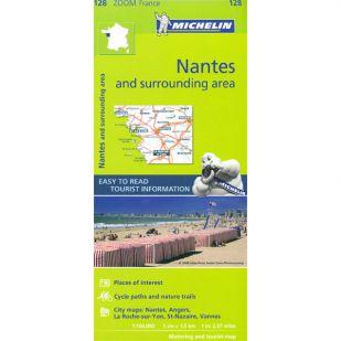 Michelin 128 Nantes en omgeving