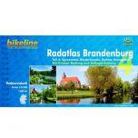 Radatlas Brandenburg 4  Bikeline Fietsgids