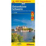 Ostseeküste/Schwerin fietskaart !