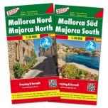 F&B Mallorca Noord en Zuid (2 kaarten)