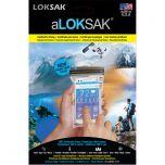 Loksak - waterdicht beschermhoesje 8,57 X 15,88 CM 2 ST. (5 inch smartphone)