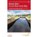 47.  Great Glen & Loch Ness Cycle Map