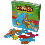 Wereld Geo Puzzel 610 mm x 318 mm