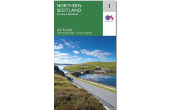 OS Road Map Schotland